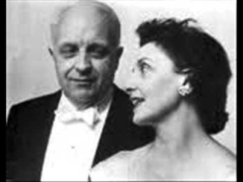 Gaby Casadesus plays Ravel Pavane pour une infante défunte
