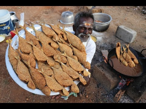 KFC Style fried FISH / DADDY / ARUMUGAM / Village food factory
