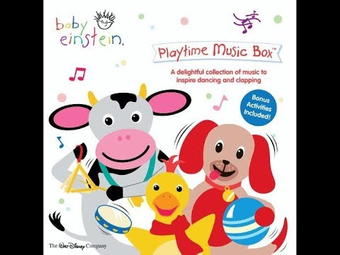 Baby Einstein: Playtime Music Box (2004 CD Soundtrack)