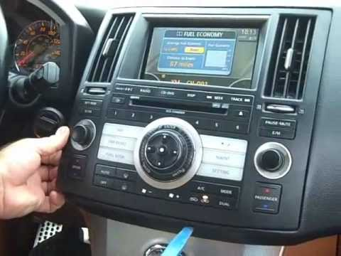 How To Infiniti Bose Fx Stereo Removal And Repair 2006