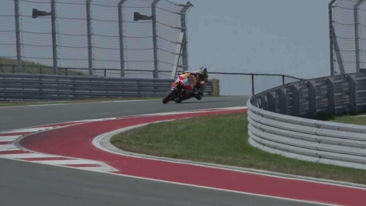 画像: Dani Pedrosa, Repsol Honda Team - On track Americas, Austin youtu.be