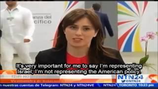 סגנית שר החוץ חוטובלי בטלוויזיה הקולומביאנית בערוץ NTN24: ישראל רואה באמריקה הלטינית אופק חדש