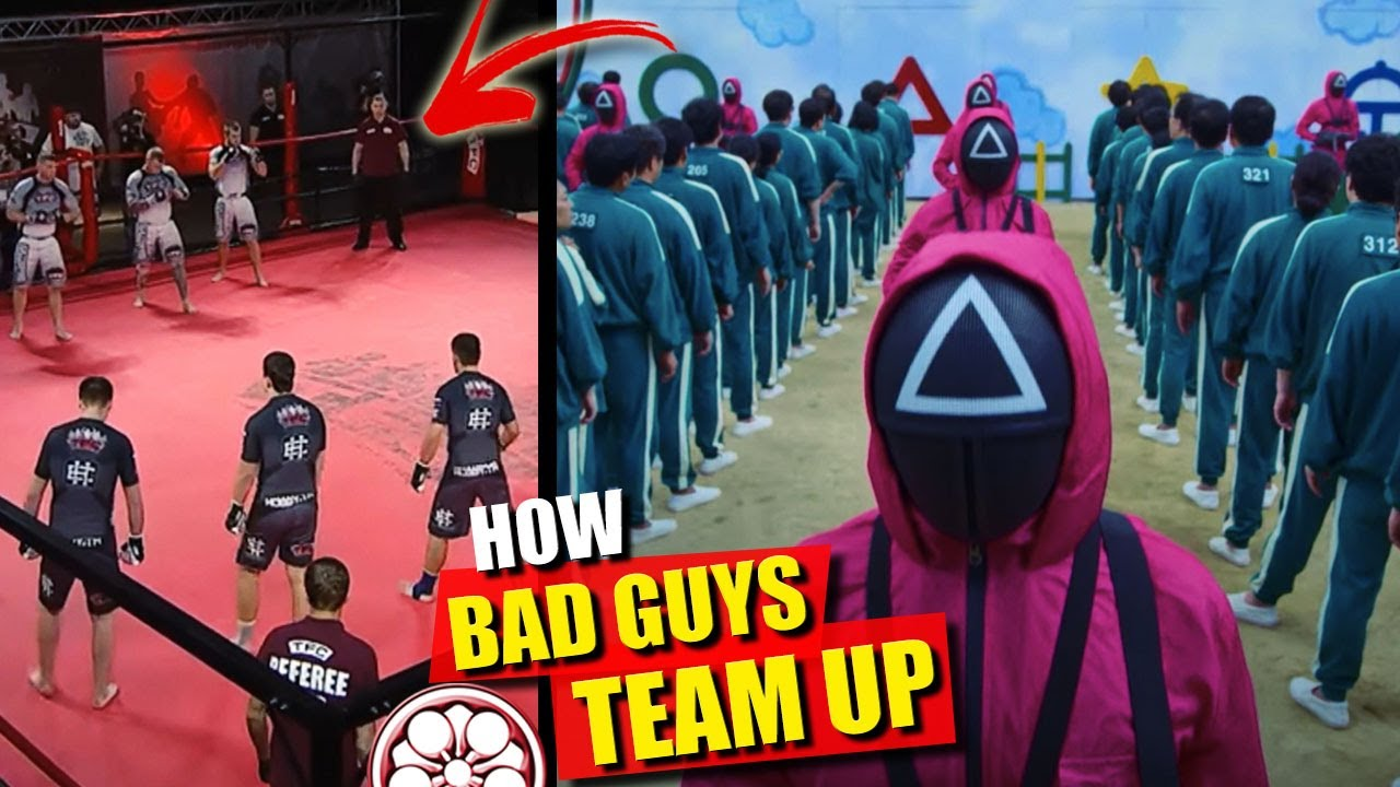 This HAPPENS When You Mix SQUID GAME with TEAM MMA