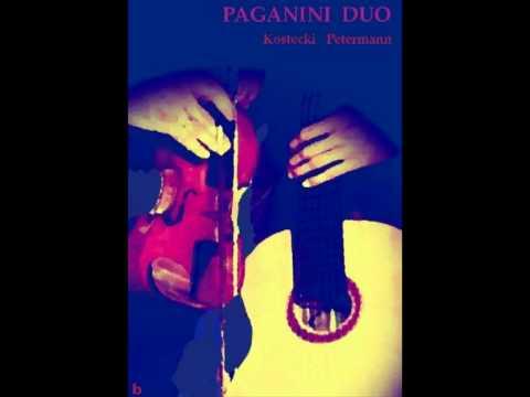 Mauro Giuliani - Great Sonata op.25 - 1st mov. - Paganini Duo - A.Kostecki  &  C.Petermann