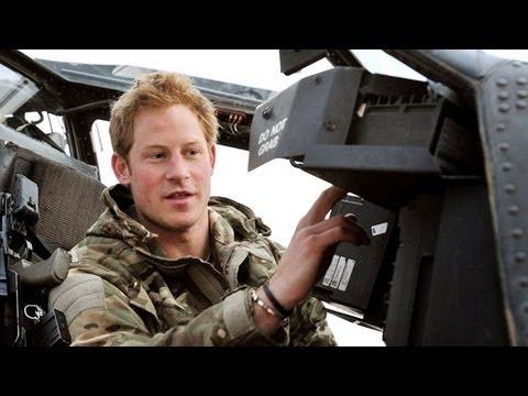 Prince Harry Says He Killed Taliban Insurgents
