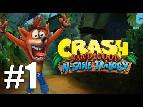 Прохождение Crash Bandicoot N. Sane Trilogy (PC) #1 - Первый остров [CB1]