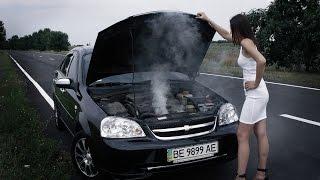 Что делать если закипел двигатель?