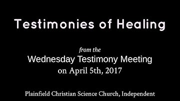 Testimonies from the Wednesday, April 5th, 2017 meeting