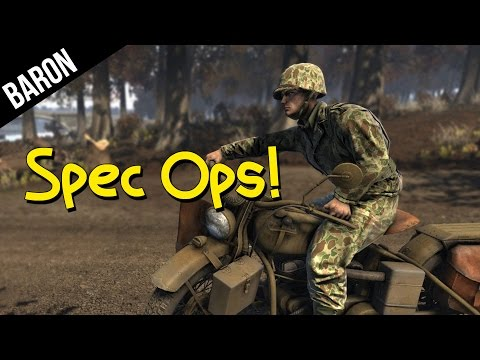 Heroes and Generals Special Forces - Motorcyle Commandos!
