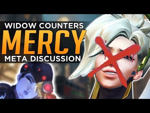 Overwatch: Widowmaker COUNTERS Mercy - Rez Meta Discussion
