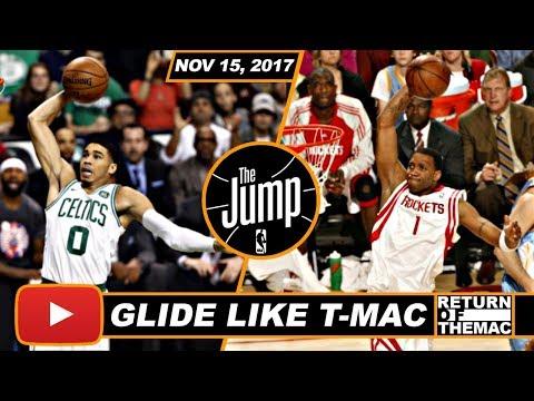 Jayson Tatum Gets Tracy McGrady Comparison On The Jump | Nov 15, 2017