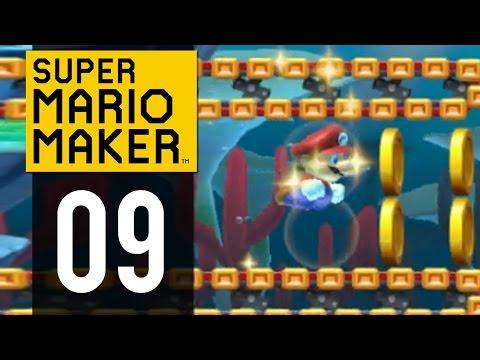 Super Mario Maker Gameplay - Part 9 -...