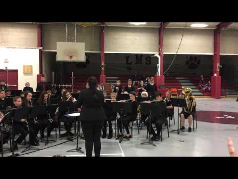 I Saw Mommy Kissing Santa Claus- Leicester Middle School Band