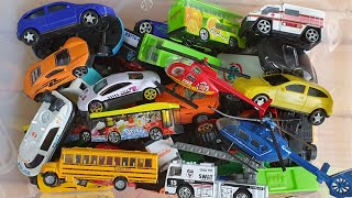 Toy Cars from Box, Small Cars review video for Little kids