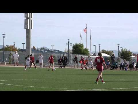 U13G Real Red VS Albuquerque United in LAS Vegas 10/25/2015