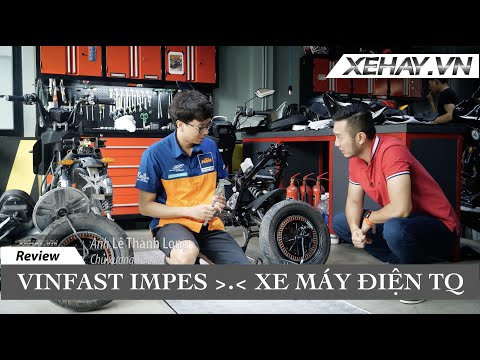 So sánh, mổ xẻ VinFast Impes và Xe máy điện Trung Quốc