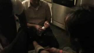 Devin's leg laceration