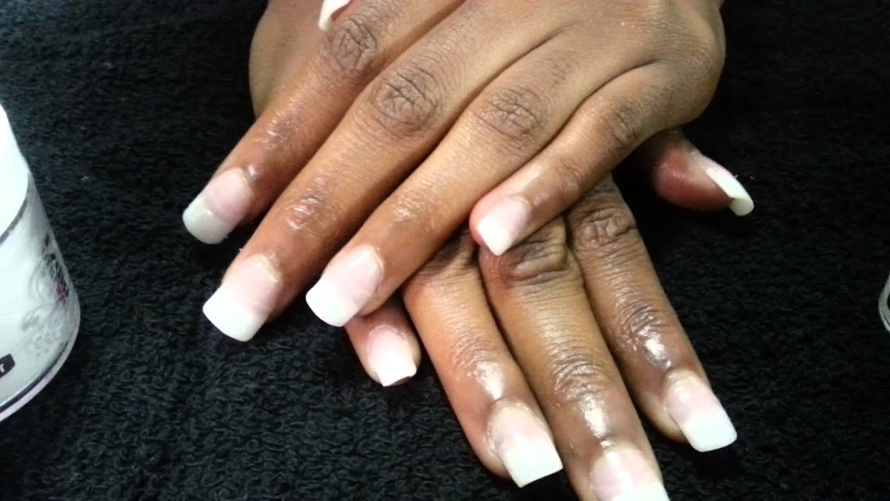 Ez dip nail system jackson, ms hair stylist - YouTube