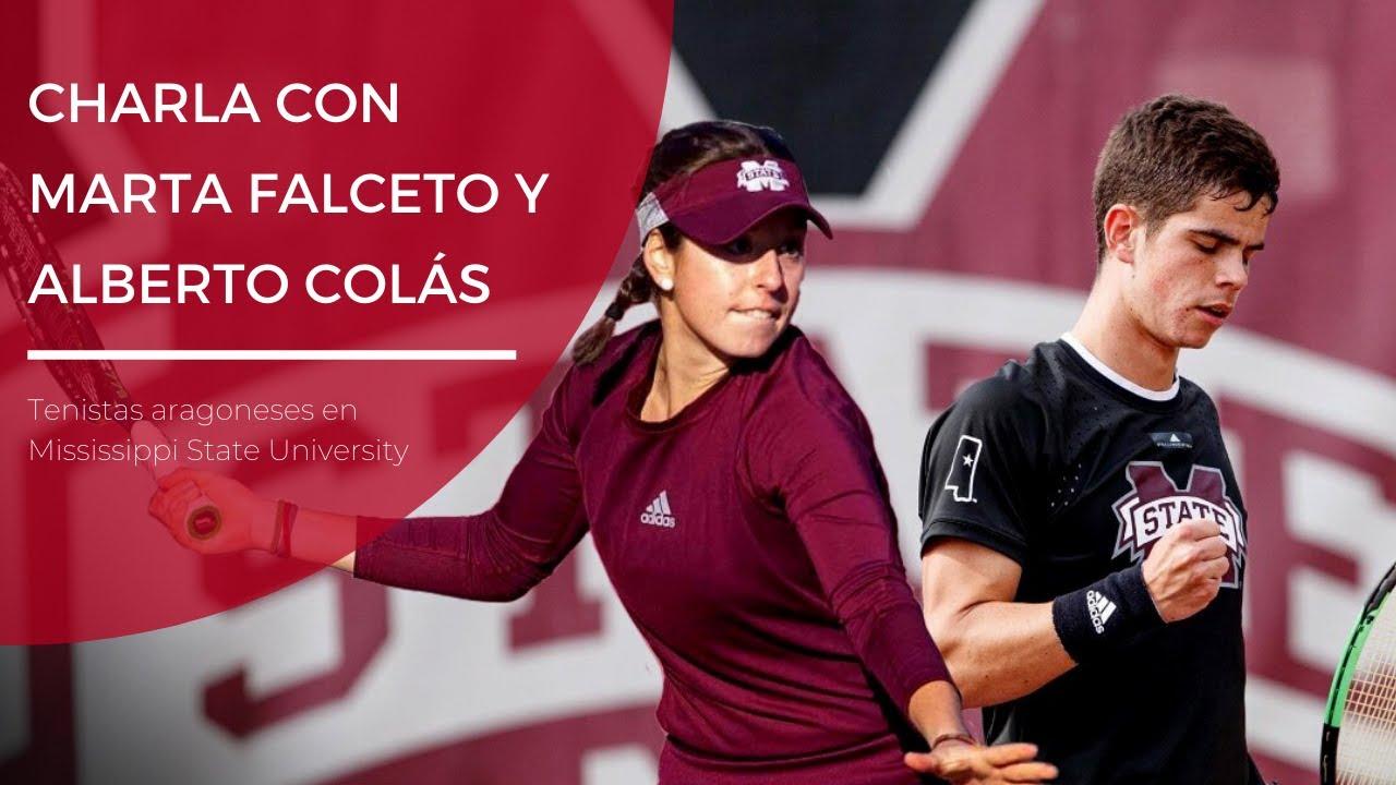 Experiencia de tenistas en USA - Marta Falceto y Alberto Colás