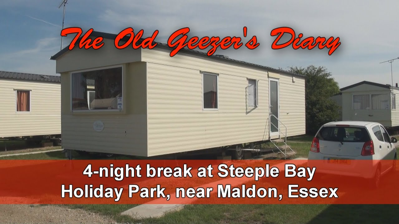 ddd82deb9f5c84 Old Geezers Diary - static caravan at Steeple Bay