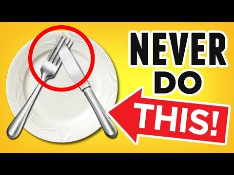 ULTIMATE Guide To Table Manners (Quick 4-Minute Tutorial) Dining Etiquette 101 For Men