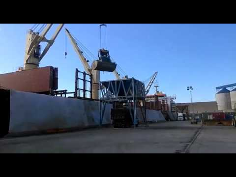 Mv Orient Accord at Sao Francisco do Sul Port | Discharging Operations at Hold #05 (June 15th, 2016)