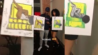 One Luv One Art | Valentine's Day Special | Sip & Paint