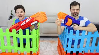 Yusuf and Dad's Nerf War