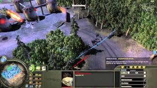 Company of Heroes 1 - 4vs4, Region um Montargis - Wenn der Pershing zu spät kommt