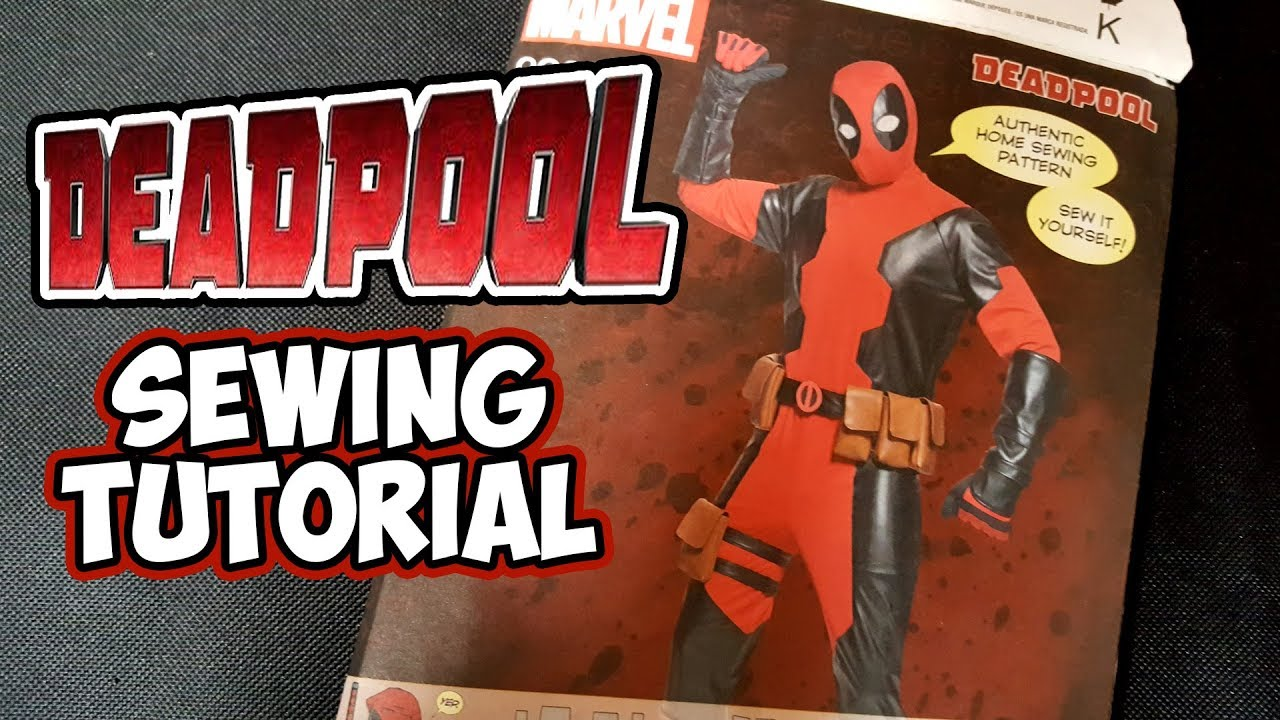 Diy deadpool sewing tutorial youtube diy deadpool sewing tutorial solutioingenieria