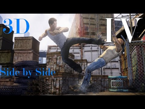3D Fights: Martial Arts Club IV (Sleeping Dogs) (3D for PC/3D phones/3D TVs/Crossed Eyes)