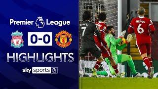 Alisson's heroics keep game goalless | Liverpool 0-0 Man Utd | Premier League Highlights