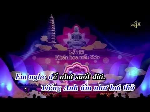 TINH YEU TREN DONG SONG QUAN HO - Ho Quang 8 KARAOKE
