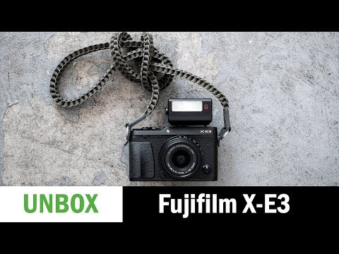 Fujifilm X-E3: Unboxing and First Impressions