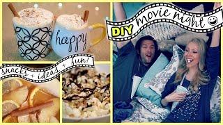 DIY MOVIE NIGHT: Snacks, Ideas + Fun!! Thumbnail