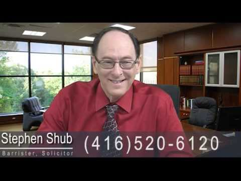 Toronto Real Estate Lawyer Stephen Shub