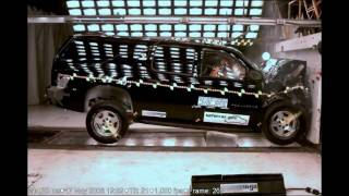2007 Chevrolet Suburban/GMC Yukon XL/Cadillac Escalade NHTSA Frontal Impact
