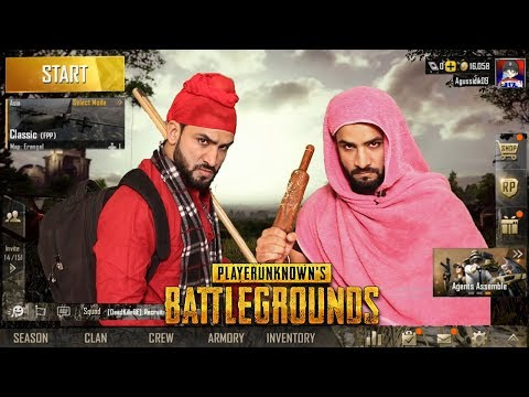 Piddi Playing PUBG | New Punjabi Comedy Video | Aman Aujla