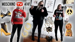 Huge TRY ON Haul H&M x Moschino Collaboration 👍👎 Honest Review First Impressions