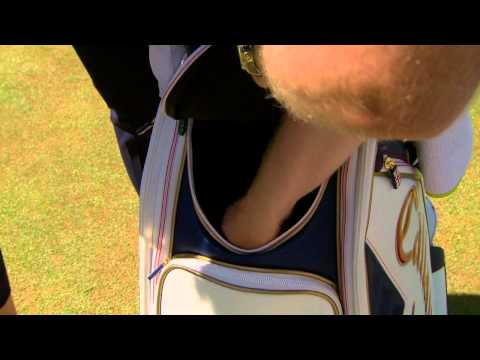 Branden Grace tells Cara Robinson what he keeps in his bag for the 143rd Open (2014)