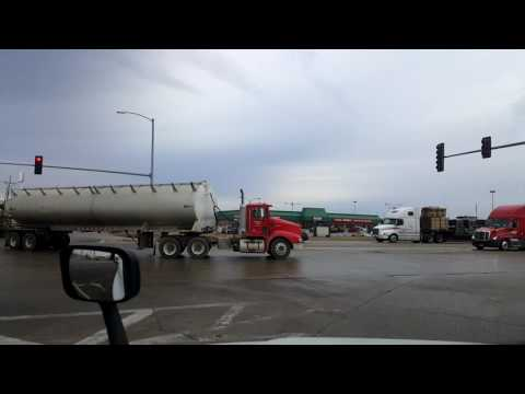 Bigrigtravels Live! - Rochelle to Bloomington, Illinois - Interstate 39 - February 11, 2017