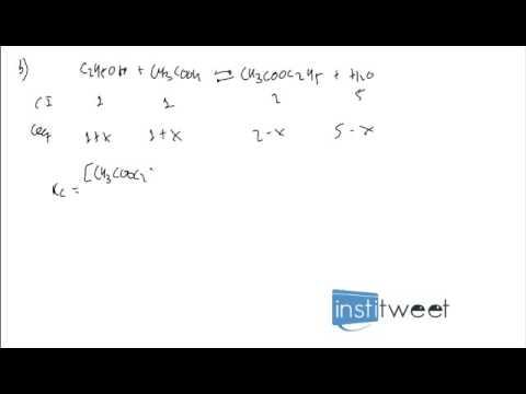 ejercicio resuelto reacción quimica y calculo de concentracion de cada especie