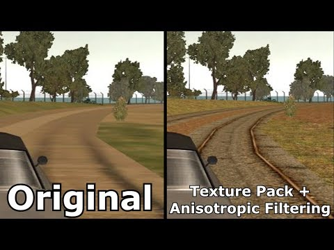 DRIV3R Original Vs Texture Pack Mod V3 + Anisotropic Filtering