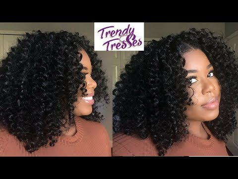 BRAIDLESS CROCHET | Trendy Tresses Nubian Curl | GIVEAWAY