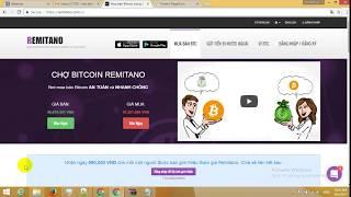 Cách nạp tiền từ remitano sang sàn coinexchange mua regal coin