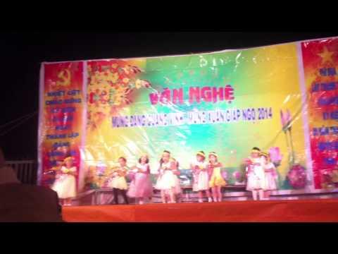 """Múa: Mùa xuân của em"""" lớp Chồi 1 trường MN Sao Mai - Bảo Lâm - Lâm Đồng."""