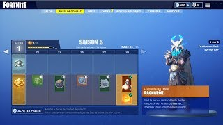 ON BUY THE NEW SAISON COMBAT PAS 5 on FORTNITE BATTLE ROYALE!