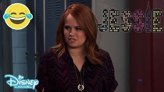 Jessie Funny Luke Fail Official Disney Channel UK HD