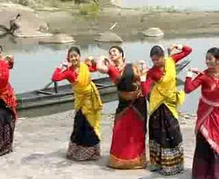 Assamese Bihu Dance - Jun Bai