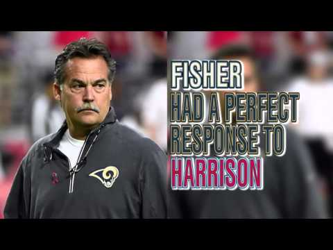Jeff Fisher's perfect response to Rodney Harrison's dirty claim